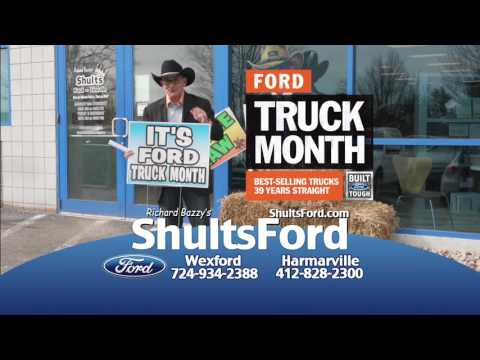 It's Truck Month at Shults Ford!
