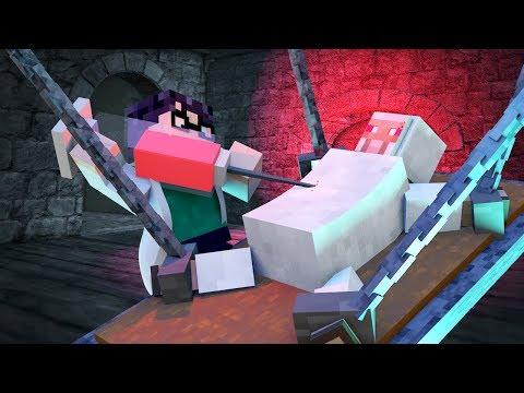 Minecraft - PEACEFUL MOBS + SECRET CHEMICAL = HOSTILE KILLERS!