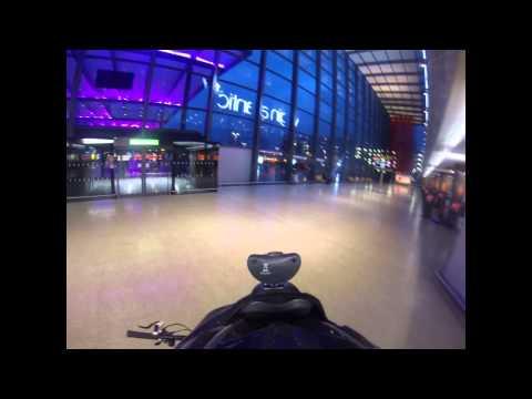 GoPro Hero3 Black Edition 1440p Test - Heathrow & Crazy National Express Driver
