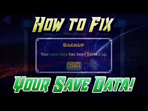 How to Fix Your Save Data on Geometry Dash!