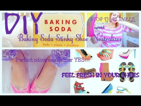 DIY Stinky Shoes Neutralizer ~ How to Freshen Smelly Shoes ~ Easy Shoe Odour Neutralizer