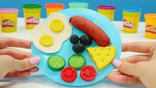 Play Doh Oyun Hamurundan Kahvaltı Tabağı Yapıyoruz