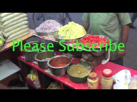 Mumbai famous bhel puri || mumbai street food