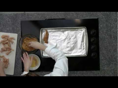Gluten Free Oven Baked Panko Chicken Fingers & Nuggets