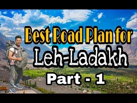 Best Route Plan To Visit Leh Ldakh I Low Cost Leh Ladakh Tour I Part - 1