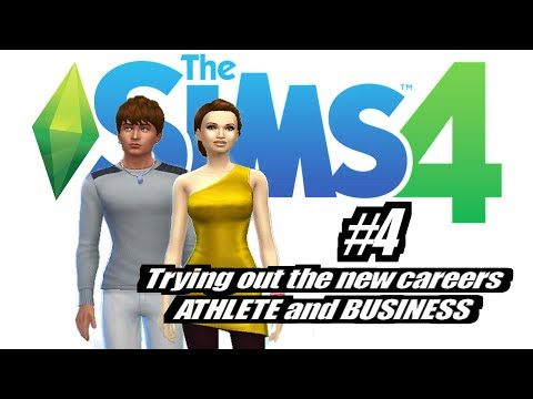 Sims 4: New Careers (Business & Athlete) EP4