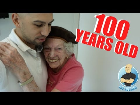 MOST UNBELIEVABLE 100 YEAR OLD FEET EVER?!?!