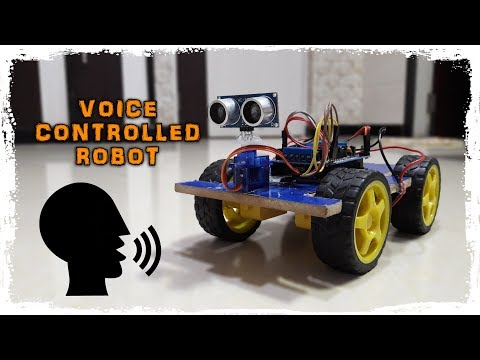 Arduino Voice Controlled Robot