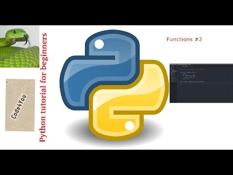 Python functions Part(02) ||Python Tutorial #8 || Python Tutorial for Beginners |function in python