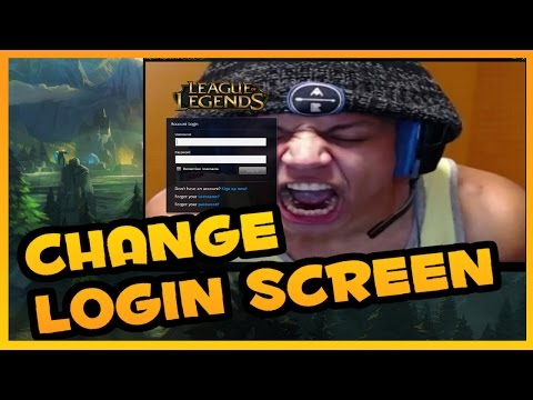 How To Change Leauge Of Legends Login Screen 2018