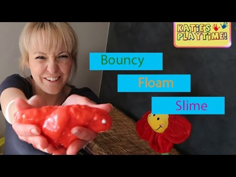 How to Make Bouncy wiggling Floam
