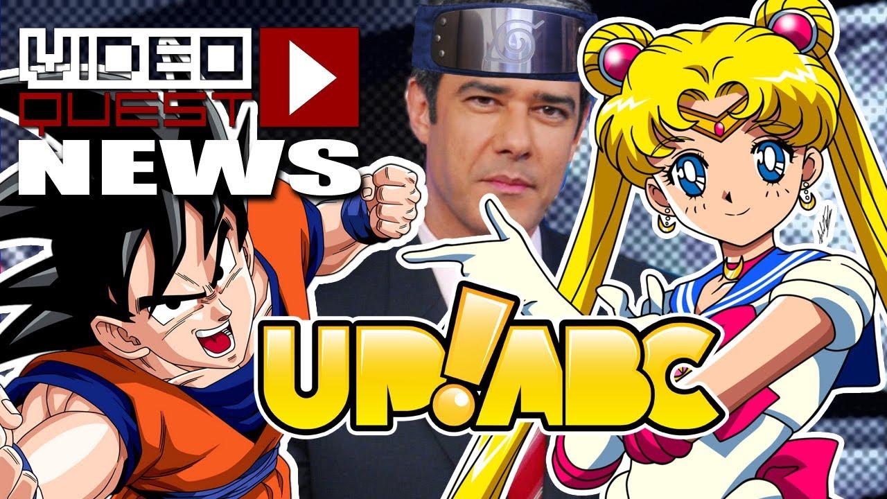 VQ News - Up!ABC, Concurso de Mangás, Sailor Moon, DBZ, Protestos