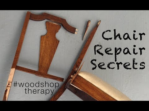 Tools and Tips to Fix Wooden Chairs