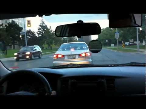 Car Driver Training - Sample Lesson : Making Left Turn - Driving School In Mississauga