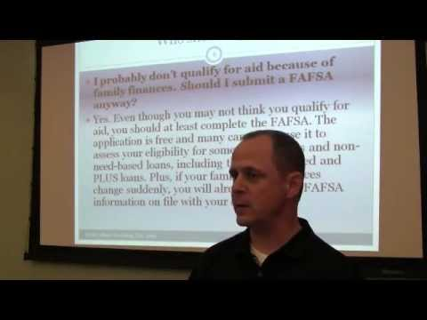 How to Maximize Financial Aid Video 1 of 4