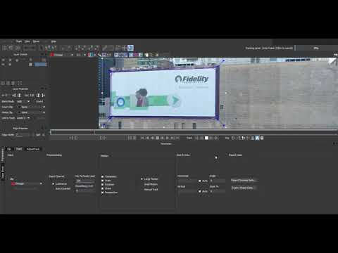 Tracking onto a wall in after effects with mocha (beginner)