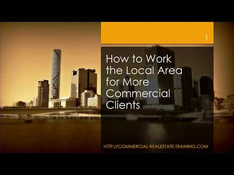 How to Look for More Local Commercial Real Estate Clients