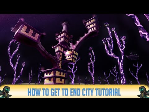 Minecraft 1.12.2: How to Make ENDER PORTAL to END CITY! | Minecraft 1.12.2 | 2018