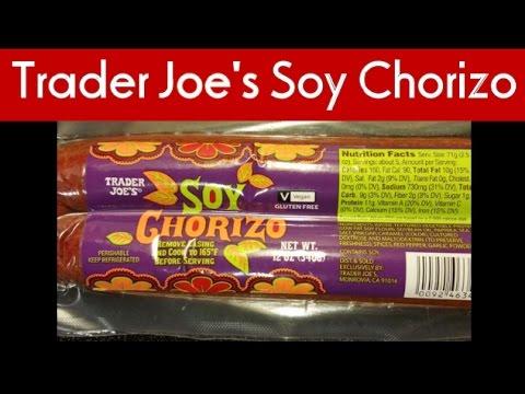 Trader Joe's Soy Chorizo Review!
