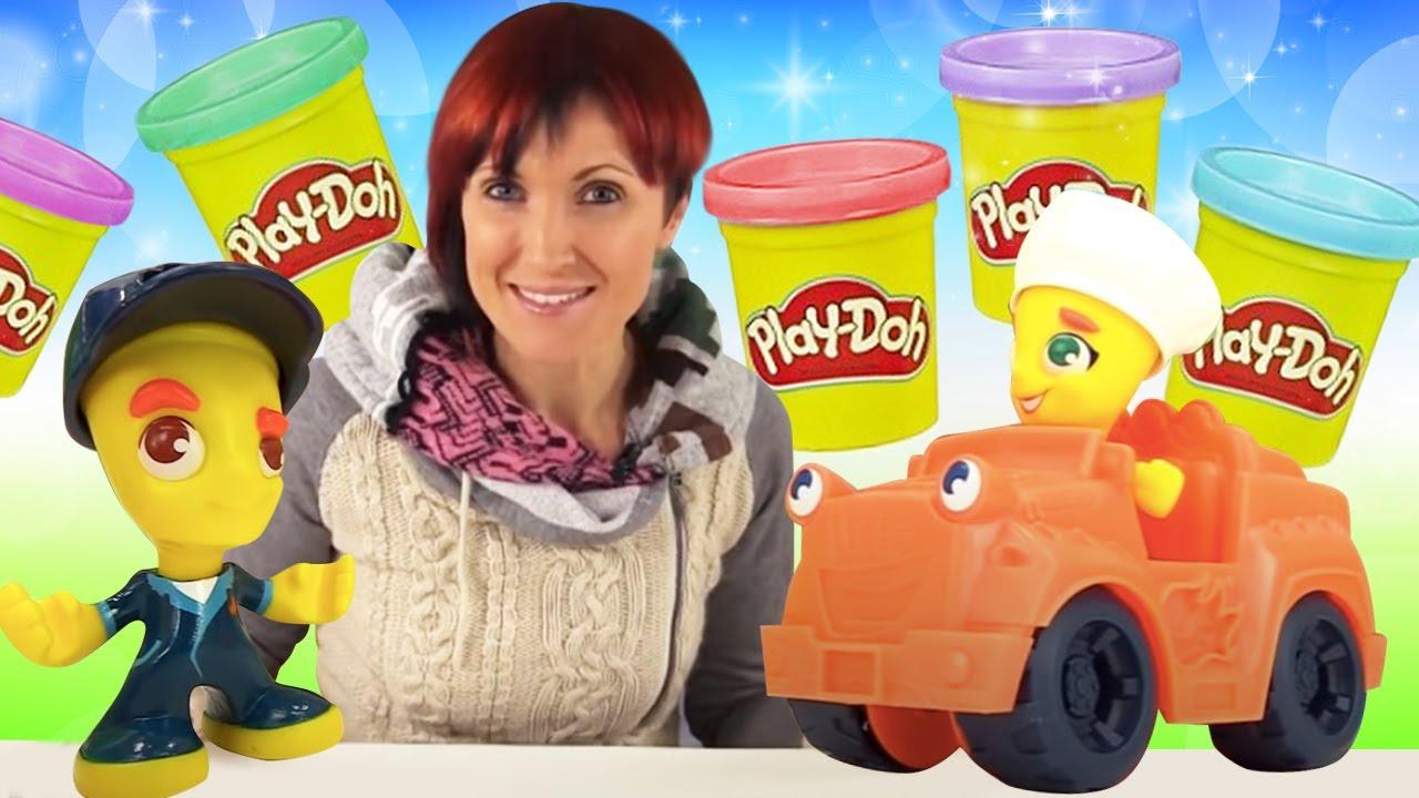 Мультики и игры с Плей До! Маша Капуки Кануки и ее игрушки. Веселая Школа для детей с Play Doh