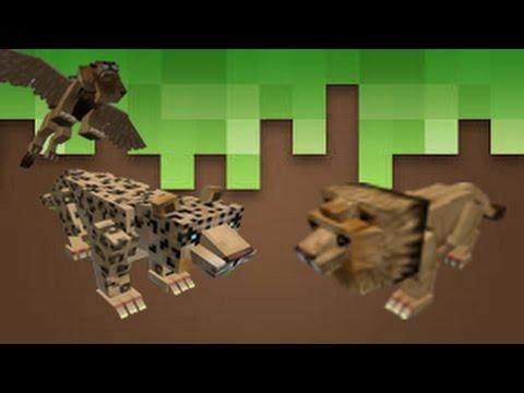 Mo Creature Mod 1.10.2    Big cat new texture