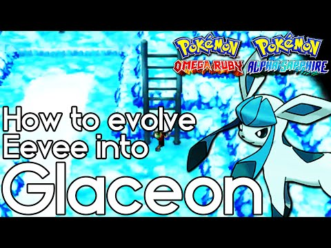 How to Evolve Eevee into Glaceon – Pokemon Omega Ruby and Alpha Sapphire – Pokemon ORAS How To