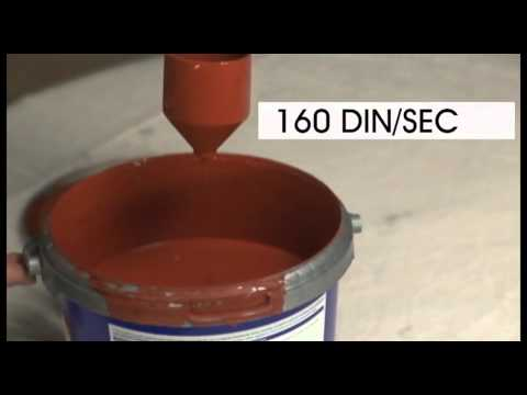 Earlex 4500 viscosity and thinning