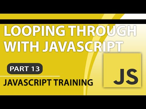 JavaScript Tutorials for Beginners - Part 13 - How to Loop Through JavaScript Arrays