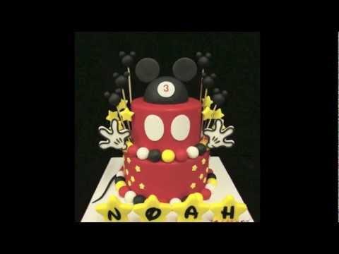 Mickey Birthday Cake!