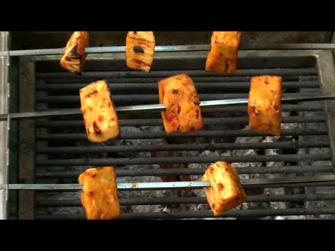 Tandoori Grill Pineapple How to make Tandoori Grill Pineapple - South Indian - Red Pix Good Life