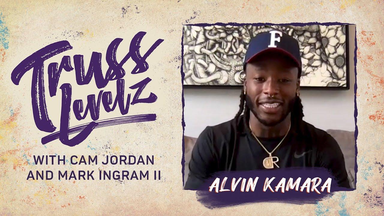 Alvin Kamara Talks With Cam Jordan and Mark Ingram II | Truss Levelz S1: E1 | The Players' Tribune