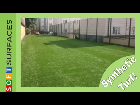 London Synthetic Turf Surface Construction