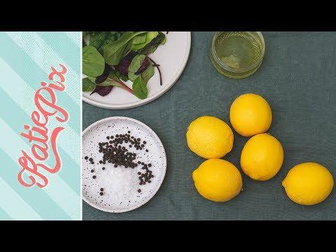 How To Make LEMON Salad Dressing Recipe | Katie Pix