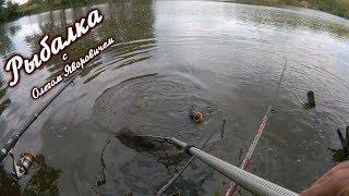 Ловля карася. А поймали большую рыбу