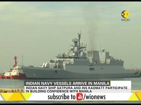 Indian Navy vessels arrive in Manila for 4-day goodwill visit