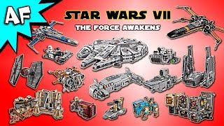 Every Lego Star Wars the Force Awakens Set - Complete Collection!