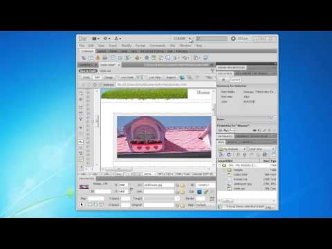 How to make a simple website using Dreamweaver