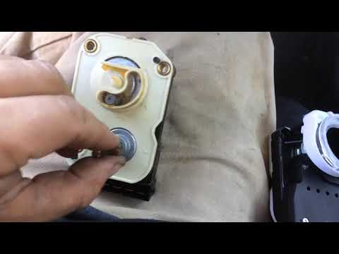 Jeep Grand Cherokee, Ignition switch tilt wheelm removal