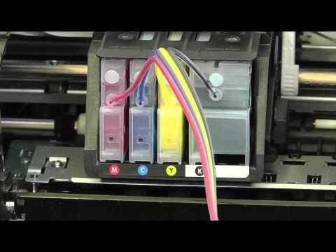 HP Officejet 8100e (UK) CIS  bulk system (Pigment Ink)