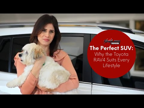 The Perfect SUV: Why the Toyota RAV4 Suits Every Lifestyle
