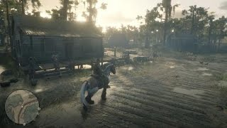 Red Dead Redemption 2 Giving a Stranger a Ride