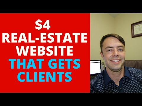 $4 REAL-ESTATE WEBSITE THAT GETS CLIENTS
