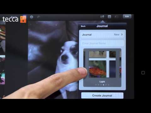 Just Show Me: How to create a photo journal on your iPad using iPhoto