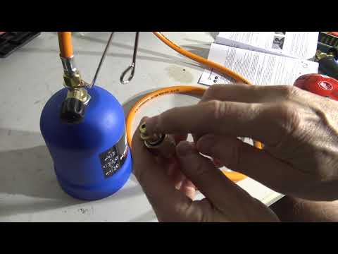 How to assemble Kemper Gas Torch
