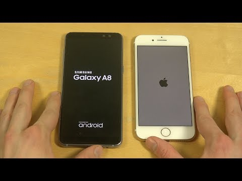 Samsung Galaxy A8 vs. iPhone 7 - Which Is Faster?