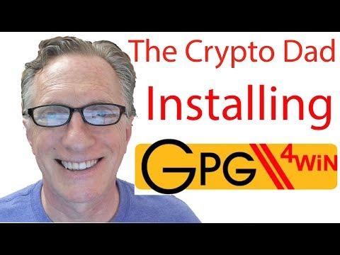 How to Verify Gpg4Win using a ShaSum Checker