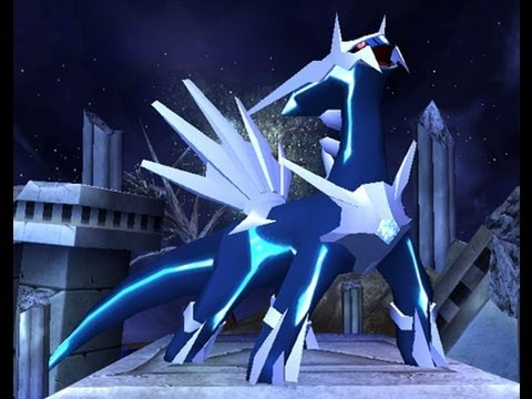 Pokemon Diamond Pt.35 mt.Coronet - spear pillar