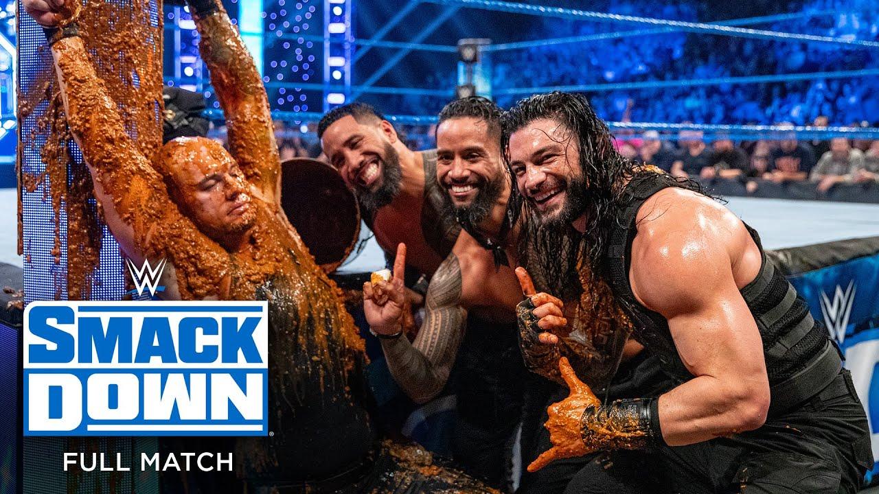 FULL MATCH - Reigns & Usos vs. Corbin, Ziggler & Roode: SmackDown, Jan. 31, 2020