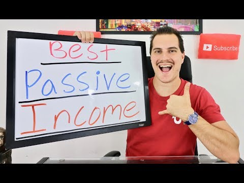BEST WAYS TO MAKE PASSIVE INCOME!