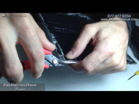 iPad Screen Replacement - Grinding And Repairing The Dented Bent Aluminum